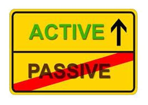 Passive voice in an essay